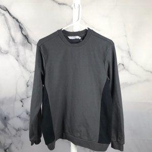 ELEVEN PARIS SWEATSHIRT gray black colorblock